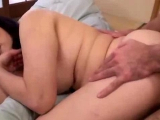 corpulent aged woman screwed by young boy getting