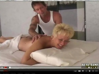 dilettante mother fucked on massage table